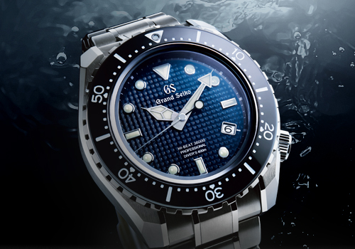 突破界限 Grand Seiko Hi-Beat 36000 專業600 米潛水錶